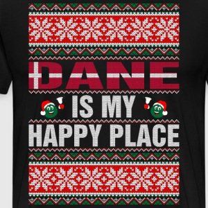 Dane Is My Happy Place T-Shirts - Men's Premium T-Shirt