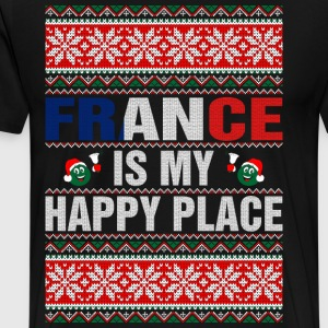 France Is My Happy Place T-Shirts - Men's Premium T-Shirt