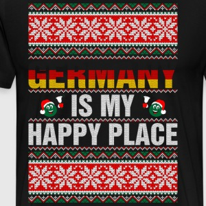 Germany Is My Happy Place T-Shirts - Men's Premium T-Shirt