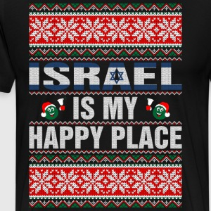 Israel Is My Happy Place T-Shirts - Men's Premium T-Shirt