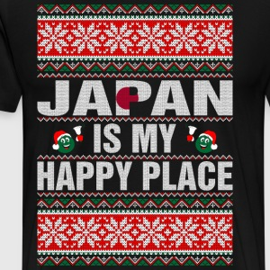 Japan Is My Happy Place T-Shirts - Men's Premium T-Shirt