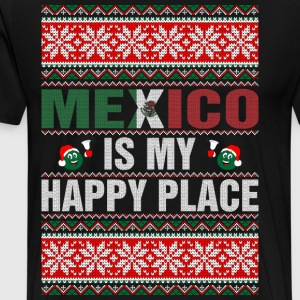 Mexico Is My Happy Place T-Shirts - Men's Premium T-Shirt