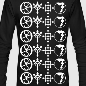 MAGUS SYMBOLS 2 - Men's Long Sleeve T-Shirt by Next Level