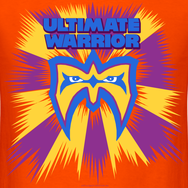 Ultimate Warrior Limited Edition Retro 90s Shirt