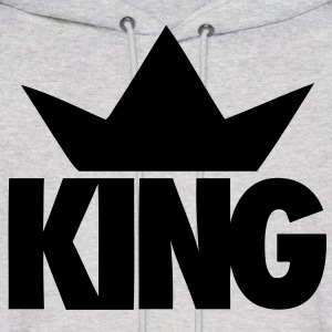 King Crown Hoodies - stayflyclothing.com - Men's Hoodie