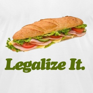 Legalize it. - Men's T-Shirt by American Apparel