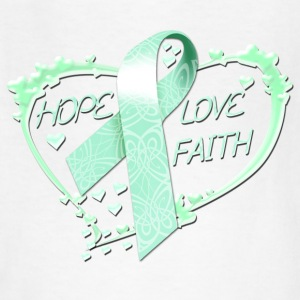 Hope Love Faith Kids' Shirts - Kids' T-Shirt