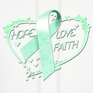Hope Love Faith Hoodies - Men's Hoodie