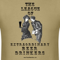 The League Of Extraordinary Beer Drinkers T-Shirt