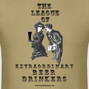 The League Of Extraordinary Beer Drinkers T-Shirt - Men's T-Shirt