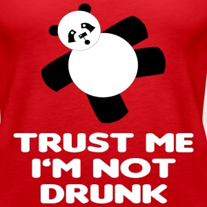TRUST ME I'M NOT DRUNK - Women's Premium Tank Top