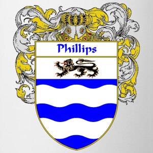 Phillips Coat of Arms/Family Crest - Coffee/Tea Mug