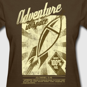retro space rocket T-Shirts - Women's T-Shirt