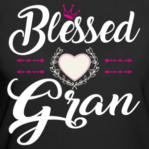 BLESSED GRAN T-Shirts - Women's 50/50 T-Shirt