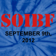 Design ~ Official SOIBF 2012 Classic-cut tie dye t-shirt for both men and women