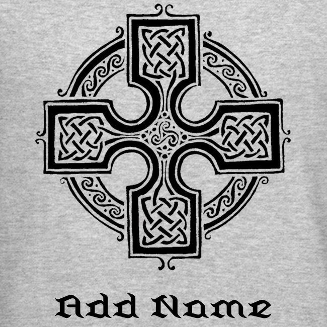415197 Celtic Cross Crewneck Sweatshirt