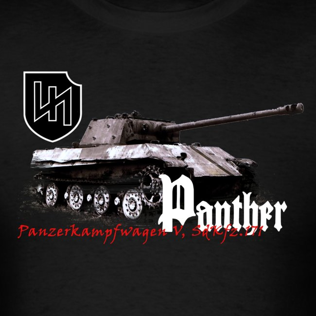 Panther Armor Journal t-shirt