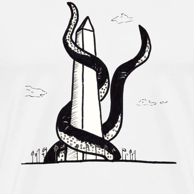 Tentacles on the Washington Monument T-Shirts