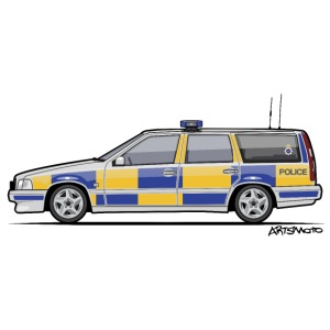 Swedish V70 T5 P80 UK Police Wagon