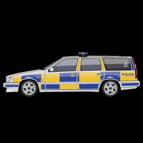 Swedish V70 T5 P80 UK Police Wagon