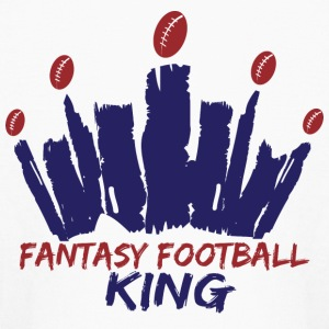 Fantasy Football King Kids' Shirts - Kids' Long Sleeve T-Shirt