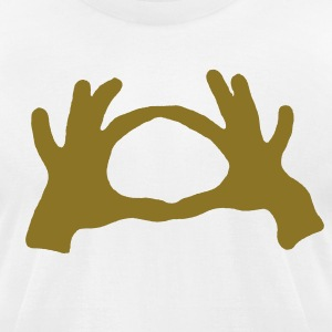 LOVE SIGN - Men's T-Shirt by American Apparel
