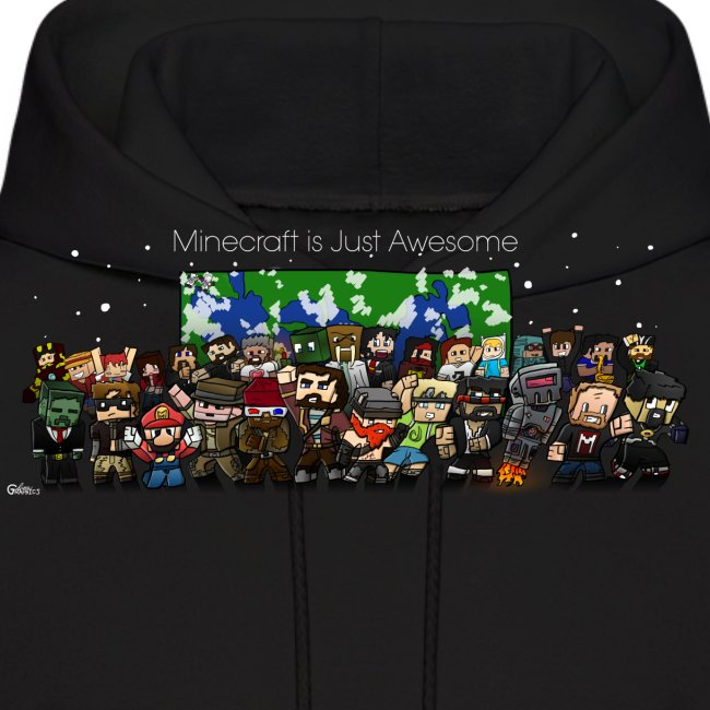 Minecraft Is Just Awesome Hoodie