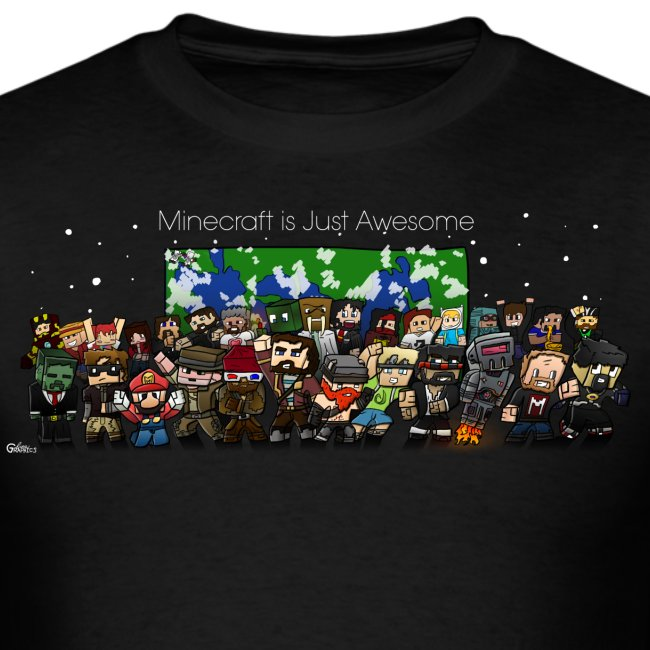 Minecraft Is Just Awesome T-Shirt