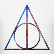 Design ~ COSMIC DEATHLY HALLOWS - MENS TSHIRT