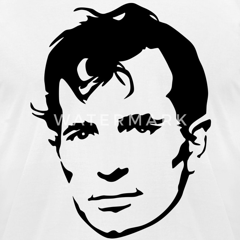 Jack Kerouac - Men's T-Shirt by American Apparel