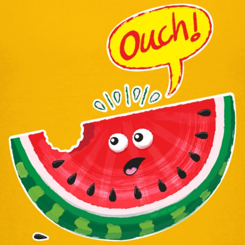 Watermelon feeling pain after bite