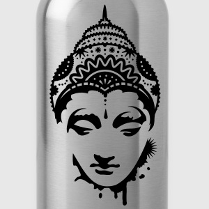 A portrait of a Buddha Accessories - Water Bottle