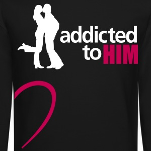 addicted to him - Crewneck Sweatshirt