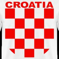 Design ~ Croatia Hrvatska Sahovnica Shirt