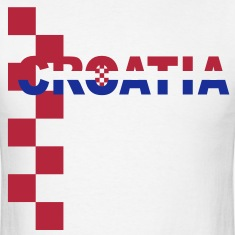 Croatia Šahovnica 2color shirt white T-Shirts