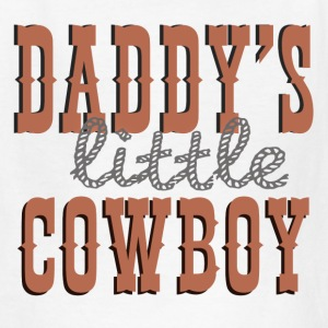 Daddy's Little Cowboy - Kids' T-Shirt