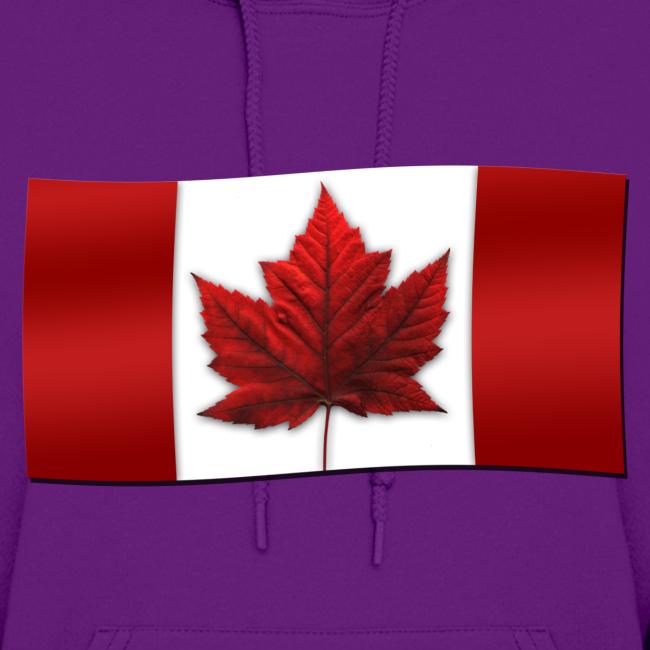 Women's Canada Hoodie Canada Flag Shirts Canada Souvenir Lady's Hoodie Sweatshirt