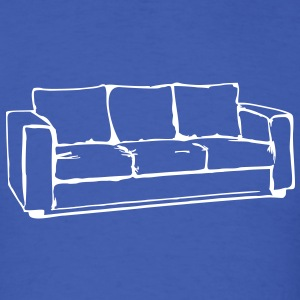 Sofa, couch, ottoman, recliner, sofa, couch, bed,  T-Shirts - Men's T-Shirt
