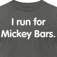 Design ~ Mickey Bar (Men's Slim Cut)