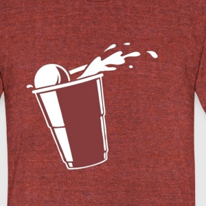 Beer Pong?  - Unisex Tri-Blend T-Shirt by American Apparel