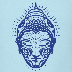 Buddha head decorated with ornaments  T-Shirts - Men's T-Shirt