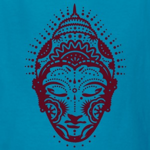 Buddha head decorated with ornaments  Kids' Shirts - Kids' T-Shirt