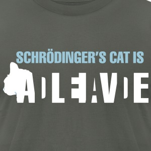 Schrödinger's cat - Heavy T - Men's T-Shirt by American Apparel