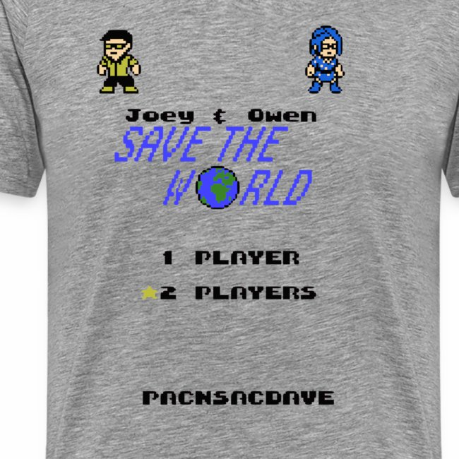 Joey & Owen Save the World Title Screen (Men)