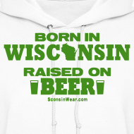 Design ~ Born in Wisconsin - Green Shimmer