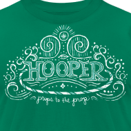 Design ~ hooper organic unisex t-shirt