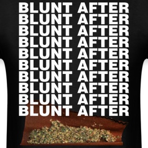 BLUNT AFTER BLUNT  - Men's T-Shirt