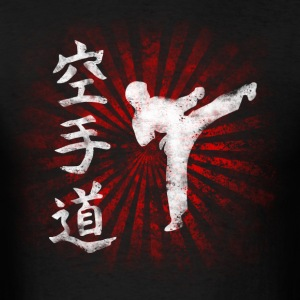 Karateka rising grunge T-Shirts - Men's T-Shirt