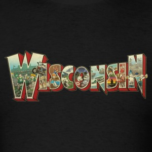 GREETINGS FROM WISCONSIN T-Shirts - Men's T-Shirt