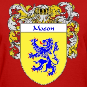 Mason Coat of Arms/Family Crest - Women's T-Shirt